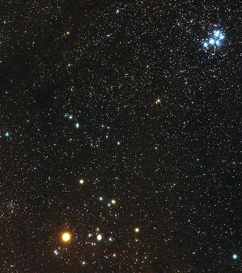 looking-up:-aldebaran:-this-winter's-brightest-red-star