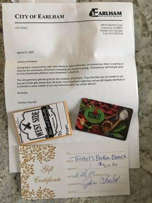 anonymous-donor-sends-$150-in-gift-cards-to-every-household-in-1,400-person-iowa-town