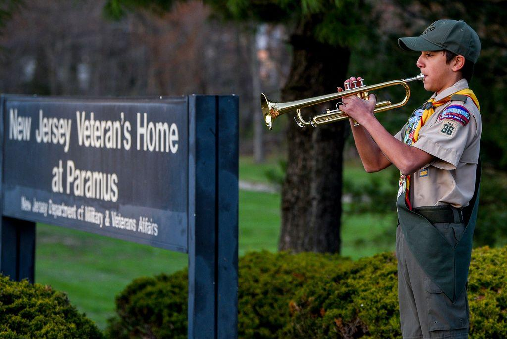 before-coronavirus,-he-chose-a-veterans-home-for-his-eagle-scout-project-now-he-plays-taps-outside.