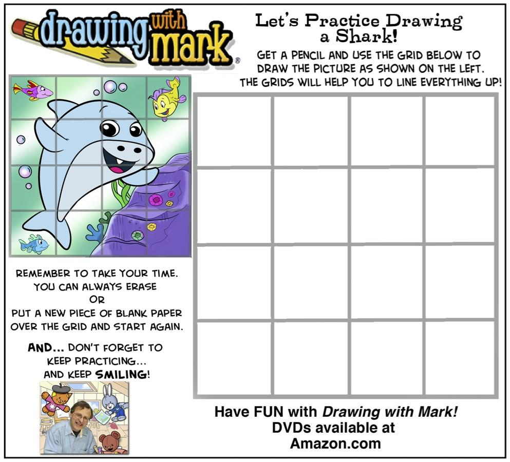 kids-activities:-let's-learn-about-sharks-(includes-drawing,-word-search-and-more!)