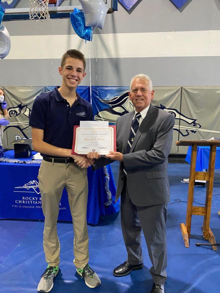 wyn-receives-first-melvin-scholarship